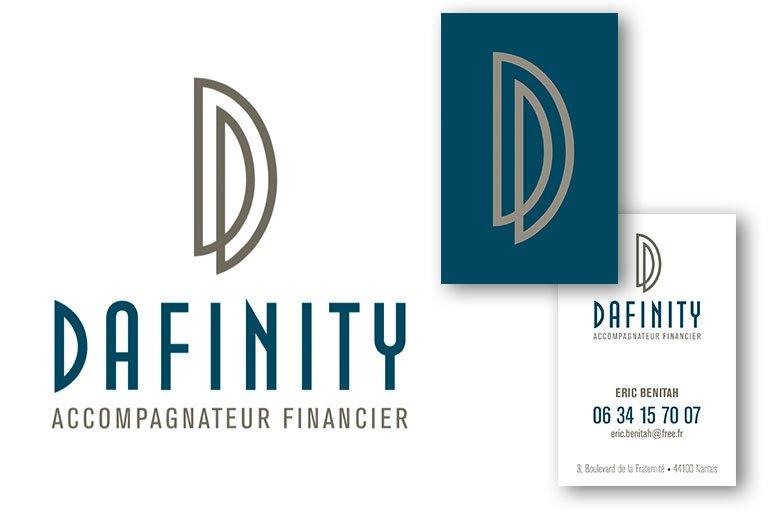 logo dafinity accompagnateur financier