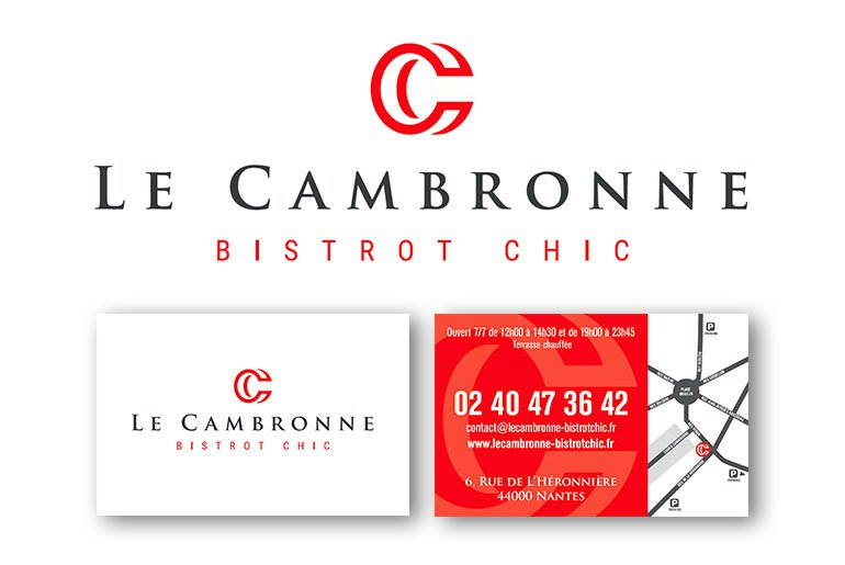 logo Cambronne bistrot chic