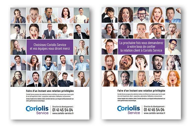 annonce presse Coriolis Service