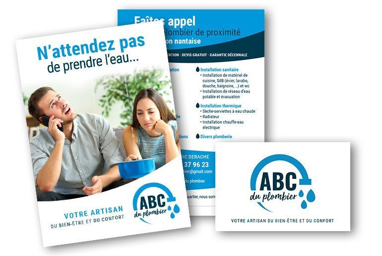 plaquette commerciale ABC du plombier