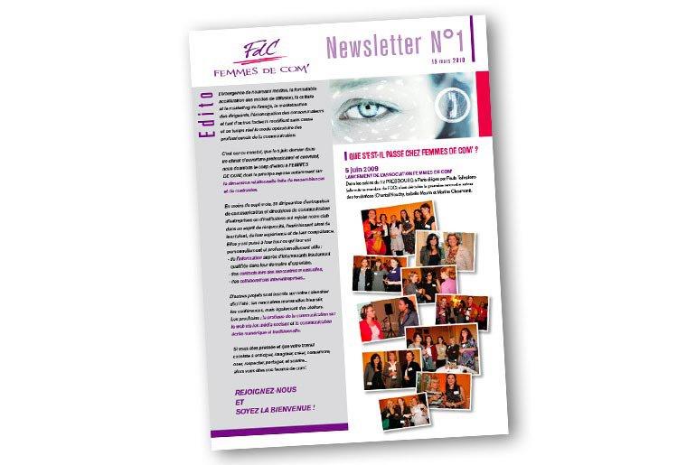 newsletter fdc femmes de com