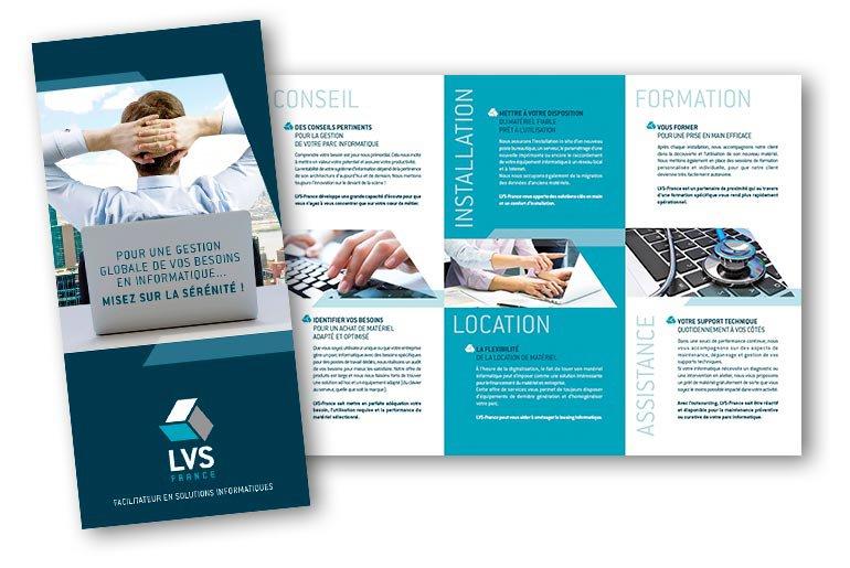 plaquette commerciale LVS France