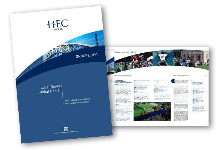 plaquette corporate HEC