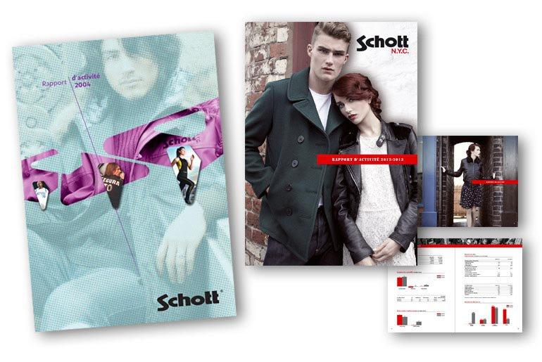 rapport d'activité Schott