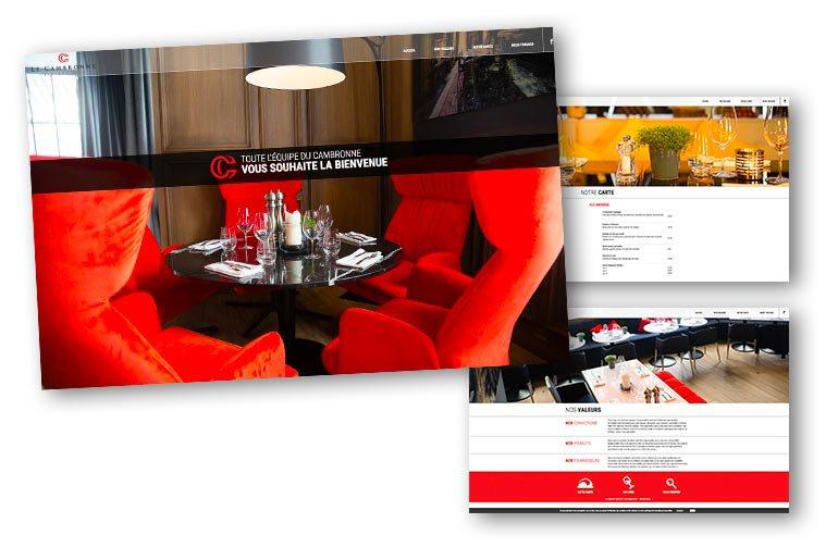 site internet Le Cambronne
