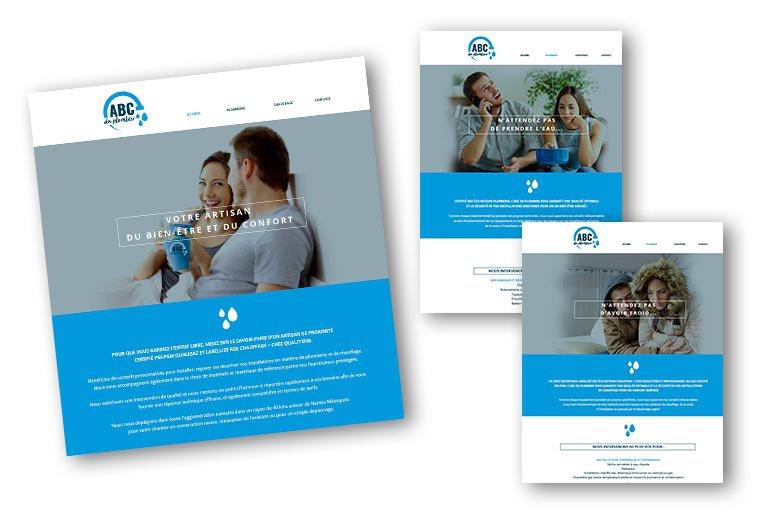 site internet ABC du Plombier